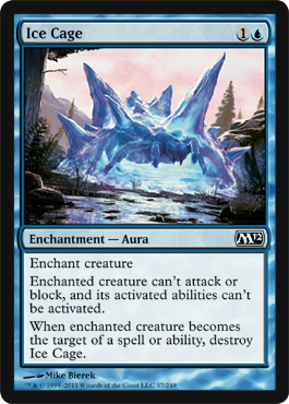Ice Cage | Magic: The Gathering Card