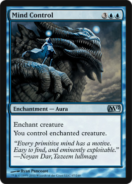 Mind Control | Magic: The Gathering Card