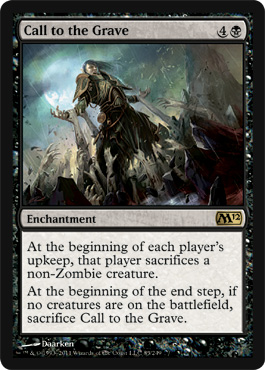 Call to the Grave | Magic: The Gathering Card