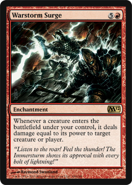 Warstorm Surge | Magic: The Gathering Card
