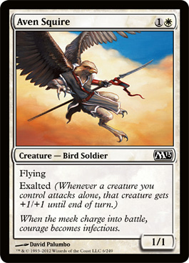 Aven Squire | Magic: The Gathering Card