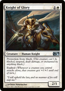 Knight of Glory | Magic: The Gathering Card