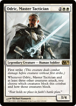 Odric, Master Tactician | Magic: The Gathering Card