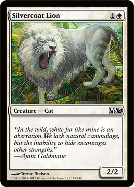 Silvercoat Lion | Magic: The Gathering Card