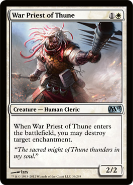 War Priest of Thune | Magic: The Gathering Card