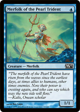 Merfolk of the Pearl Trident | Magic: The Gathering Card