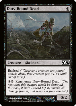 Duty-Bound Dead | Magic: The Gathering Card