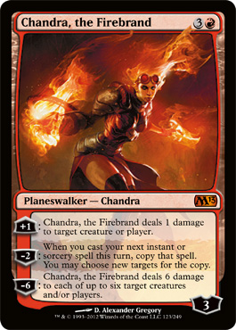 Chandra, the Firebrand | Magic: The Gathering Card