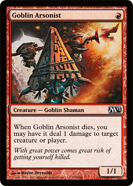 Goblin Arsonist | Magic: The Gathering Card