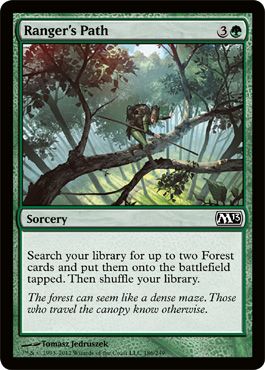 Ranger's Path | Magic: The Gathering Card