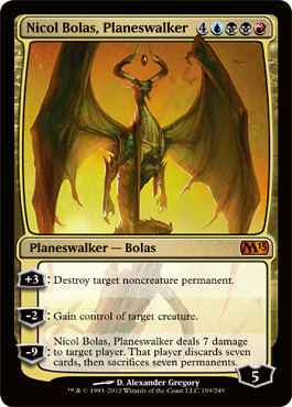 Nicol Bolas, Planeswalker | Magic: The Gathering Card
