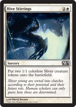 Hive Stirrings | Magic: The Gathering Card