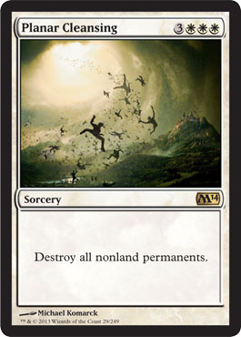 Planar Cleansing | Magic: The Gathering Card