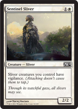 Sentinel Sliver | Magic: The Gathering Card