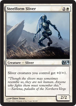 Steelform Sliver | Magic: The Gathering Card