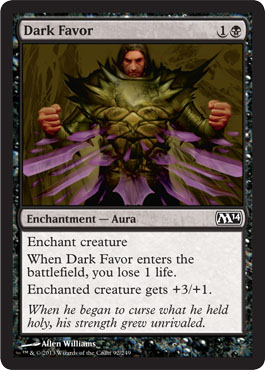 Dark Favor | Magic: The Gathering Card