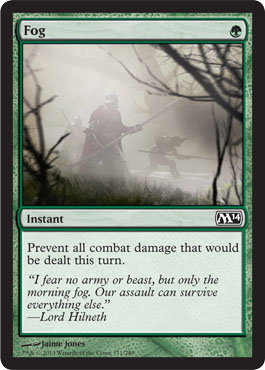 Fog | Magic: The Gathering Card
