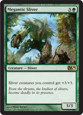 Megantic Sliver | Magic: The Gathering Card