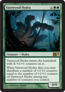 Vastwood Hydra | Magic: The Gathering Card