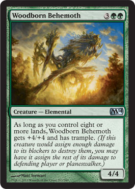 Woodborn Behemoth | Magic: The Gathering Card