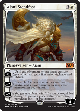 Ajani Steadfast | Magic: The Gathering Card