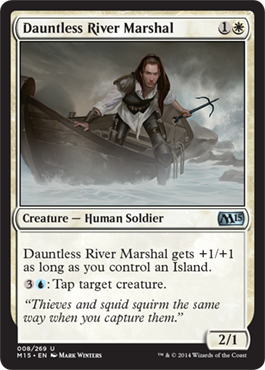 Dauntless River Marshal | Magic: The Gathering Card
