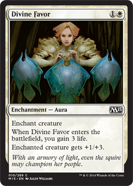 Divine Favor | Magic: The Gathering Card