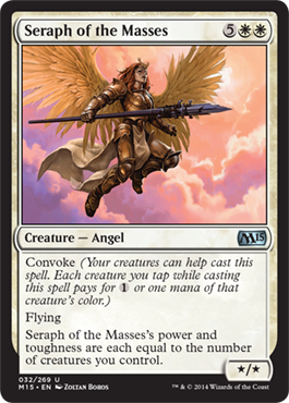 Seraph of the Masses | Magic: The Gathering Card