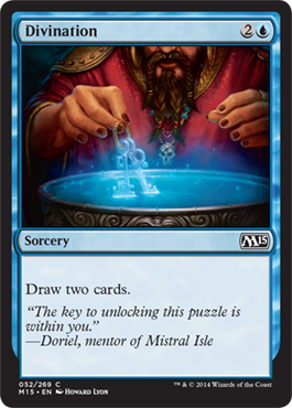 Divination | Magic: The Gathering Card
