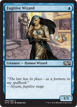 Fugitive Wizard | Magic: The Gathering Card