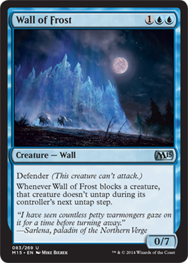 Wall of Frost | Magic: The Gathering Card