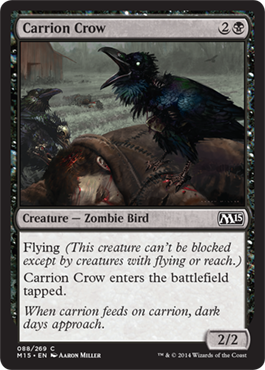Carrion Crow | Magic: The Gathering Card