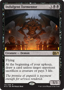 Indulgent Tormentor | Magic: The Gathering Card