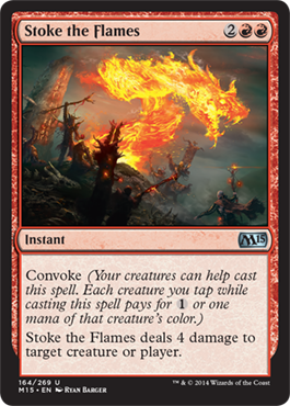 Stoke the Flames | Magic: The Gathering Card