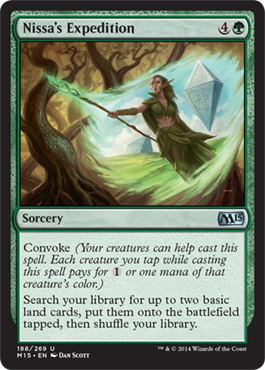 Nissa's Expedition | Magic: The Gathering Card