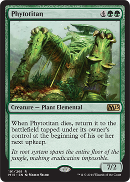 Phytotitan | Magic: The Gathering Card