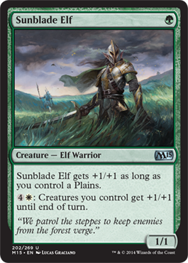 Sunblade Elf | Magic: The Gathering Card