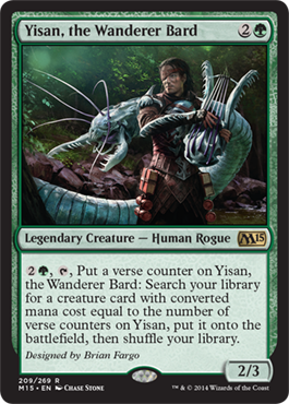 Yisan, the Wanderer Bard | Magic: The Gathering Card
