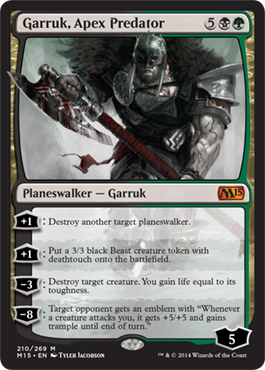 Garruk, Apex Predator | Magic: The Gathering Card