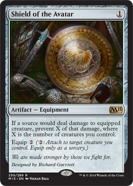 Shield of the Avatar | Magic: The Gathering Card