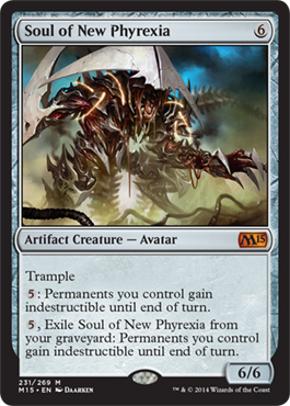 Soul of New Phyrexia | Magic: The Gathering Card