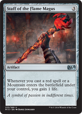 Staff of the Flame Magus | Magic: The Gathering Card