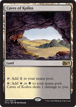 Caves of Koilos | Magic: The Gathering Card