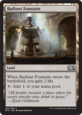 Radiant Fountain | Magic: The Gathering Card