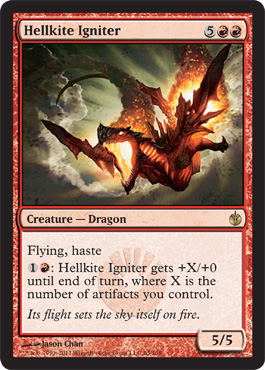 Hellkite Igniter | Magic: The Gathering Card