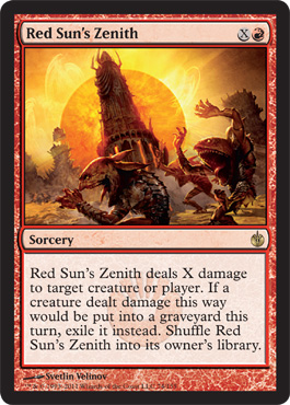 Red Sun's Zenith | Magic: The Gathering Card
