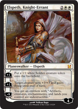 Elspeth, Knight-Errant | Magic: The Gathering Card