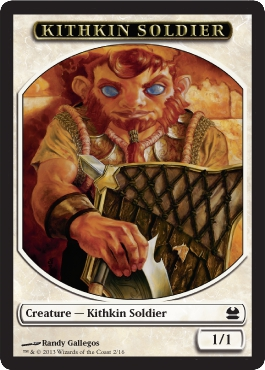 Kithkin Solder Token | Magic: The Gathering Card