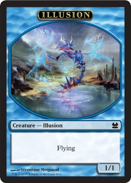 Illusion Token | Magic: The Gathering Card
