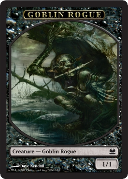 Goblin Rogue Token | Magic: The Gathering Card